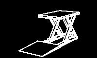 Mesa Compacta Retangular