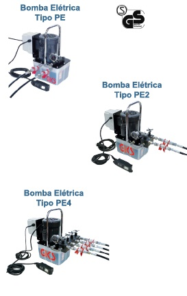 Bombas Hidráulicas Elétricas